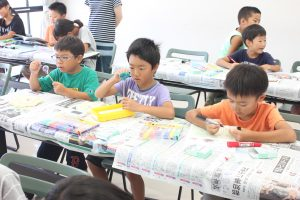 夏休み寺子屋教室5日間8